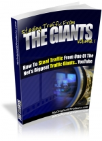 Thumbnail Stealing Traffic From The Giants : Volume 1 - With Master Resale Rights