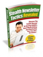 Thumbnail Stealth Newsletter Tactics Revealed - With Master Resale Rights