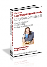 Thumbnail How to Lose Weight Healthy with Stop Watch Method! With Master Resale Rights