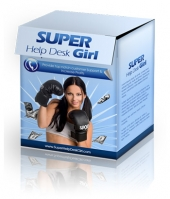 Thumbnail Super Help Desk Girl - With Private Label Rights