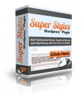 Thumbnail Super Styles WordPress Plugin - With Personal Use Rights