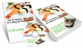 Thumbnail Making Your Own Sushi - With Master Resell Rights