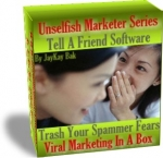 Thumbnail Tell A Friend - Viral Marketing In A Box - With Resale Rights