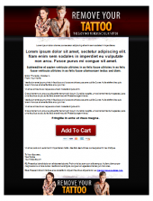 Thumbnail Tattoo Removal Template - With Personal Use Rights