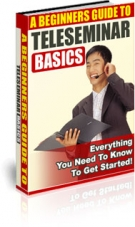 Thumbnail A Beginners Guide To Teleseminar Basics - With Private Label Rights