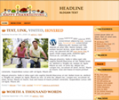 Thumbnail Thanksgiving Wordpress Themes - With Master Resale Rights