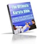 Thumbnail The Ultimate Karate Bible With Master Resale Rights