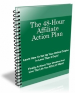 Thumbnail The 48-Hour Affiliate Action Plan With Private Label Rights