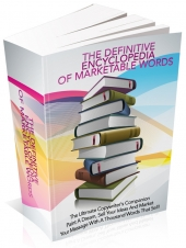 Thumbnail The Definitive Encyclopedia Of Marketable Words - With Master Resale Rights