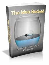 Thumbnail The Idea Bucket - With Master Resell Rights