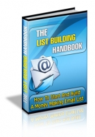Thumbnail The List Building Handbook - With Master Resale Rights