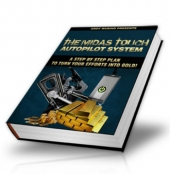 Thumbnail The Midas Touch Autopilot System - With Master Resale Rights