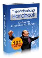 Thumbnail The Motivational Handbook - With Master Resell Rights