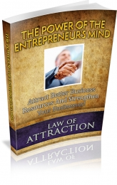 Thumbnail The Power Of The Entrepreneur's Mind - With Master Resale Rights
