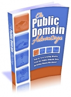 Thumbnail The Public Domain Advantage - With Master Resale Rights