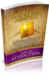 Thumbnail The Reality Mindset - With Master Resale Rights