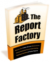 Thumbnail The Report Factory - With Master Resale Rights