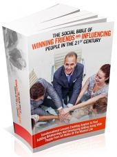 Thumbnail The Social Bible Of Winning Friends And Influencing People In The 21st Century - With Master Resale Rights