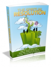 Thumbnail The Spiritual Resolution - With Master Resale Rights
