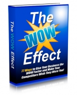 Thumbnail The WOW Effect - With Master Resale Rights