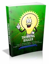Thumbnail Thinking Bigger - With Master Resale Rights