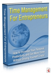 Thumbnail Time Management For Entrepreneurs - With Master Resell Rights