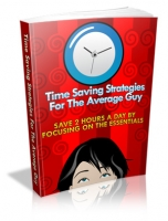 Thumbnail Time Saving Strategies For The Average Guy - With Master Resale Rights