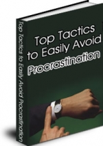 Thumbnail Top Tactics To Easily Avoid Procrastination - With Master Resale Rights