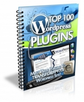 Thumbnail Top 100 Wordpress Plugins - With Master Resale Rights
