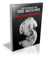 Thumbnail Top Sources For FREE Backlinks - With Master Resale Rights