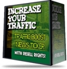Thumbnail Traffic Boost News Ticker - With Resell Rights