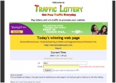 Thumbnail Traffic Lottery - With Master Resale Rights