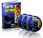 Thumbnail Traffic Mayhem - 1 Million FREE Visitors - With Master Resale Rights