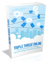 Thumbnail Triple Threat Online - With Master Resell Rights