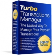 Thumbnail Turbo Transactions Manager - With Resale Rights