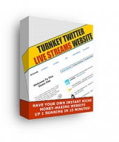 Thumbnail Turnkey Twitter Live Streams Website - With Master Resale Rights