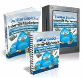 Thumbnail Twitter Basics For Internet Marketers - With Master Resell Rights
