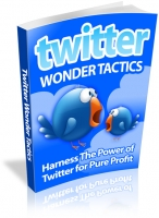 Thumbnail Twitter Wonder Tactics - With Resale Rights