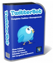 Thumbnail TwitterBot - With Master Resell Rights