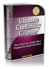 Thumbnail Ultimate Credibility Grabber - With Resell Rights