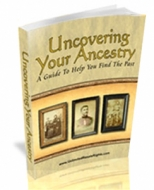 Thumbnail Uncovering Your Ancestry - With Master Resale Rights