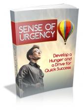 Thumbnail Sense Of Urgency - With Master Resell Rights