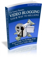 Thumbnail Video Blogging Your Way To Millions - With Master Resale Rights
