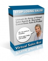 Thumbnail Virtual Sales Bot - With Resale Rights