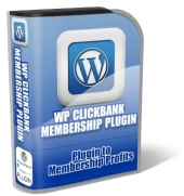 Thumbnail WP ClickBank Membership Plugin - With Master Resale Rights