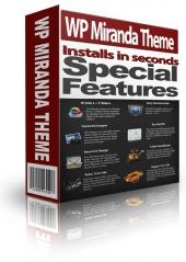 Thumbnail WP Miranda Theme - With Personal Use Rights
