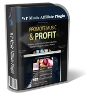 Thumbnail WP Music Affiliate WP Plugin - With Personal Use Rights