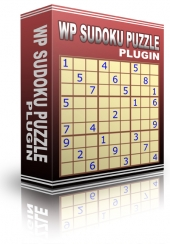 Thumbnail WP Sudoku Puzzle Plugin - With Personal Use Rights
