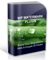 Thumbnail WP Watermark Plugin - With Private Label Rights
