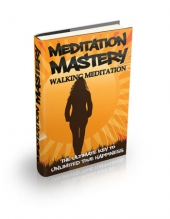 Thumbnail Walking Meditation - With Master Resell Rights